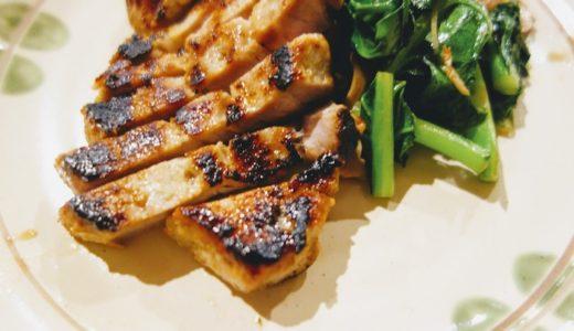 冷凍庫保存もできる豚肉の味噌漬けステーキ