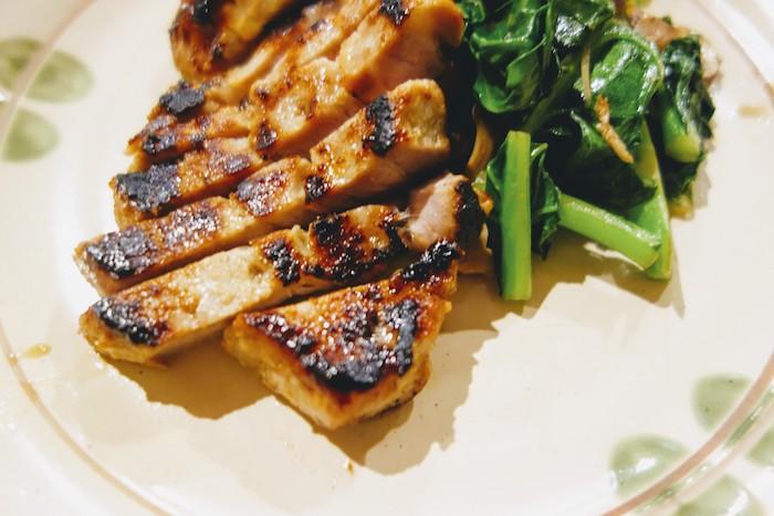 豚肉の味噌漬けステーキ2