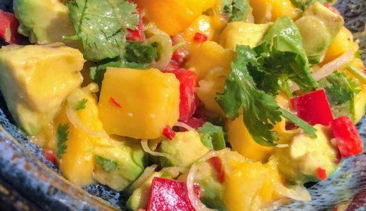 甘くてしょっぱい?簡単でおいしいマンゴとアボカドのサルサレシピ