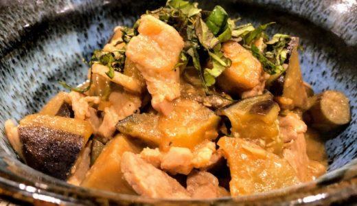 豚バラ肉とナスの味噌炒めで白飯を美味しく食べる