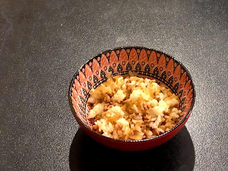 豚ひき肉としらたきの炒め煮