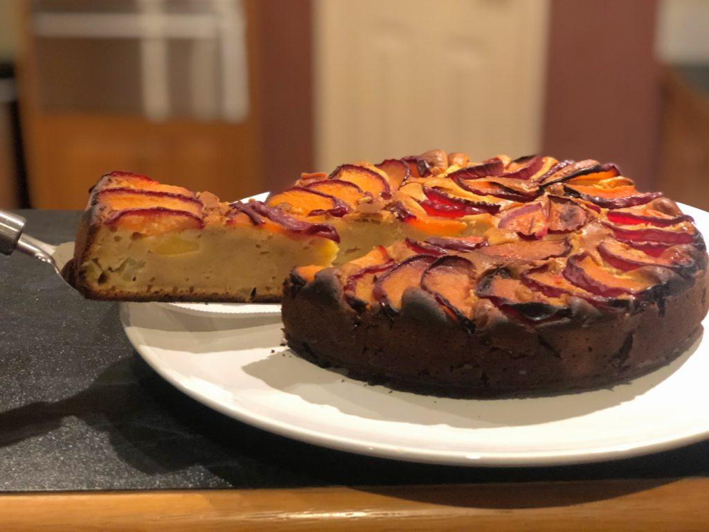 アップルプラムヨーグルトケーキ