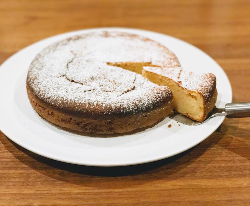 再びもっちりしっとりレモンヨーグルトケーキ