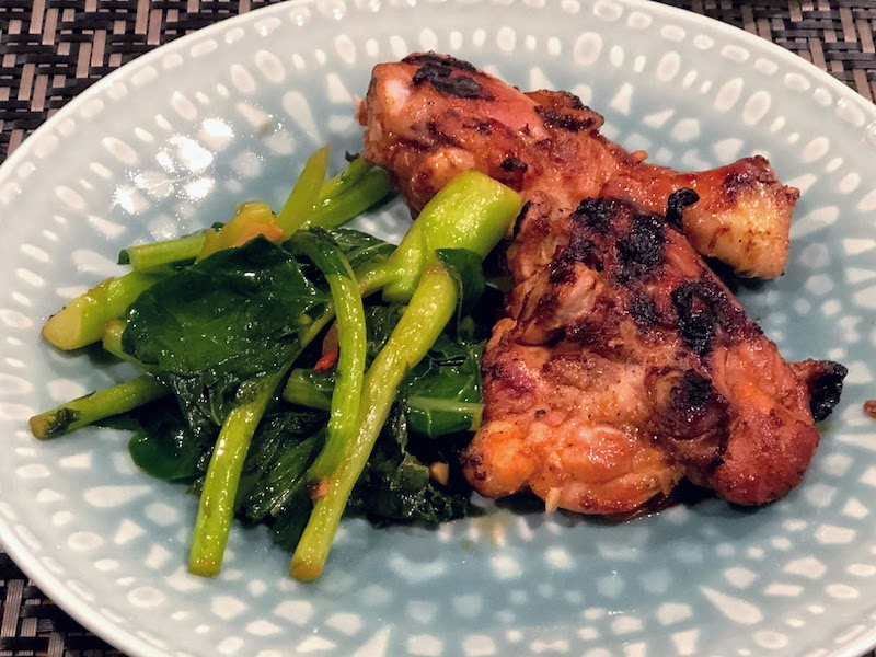 鶏もも肉の無国籍アジア風マリネ