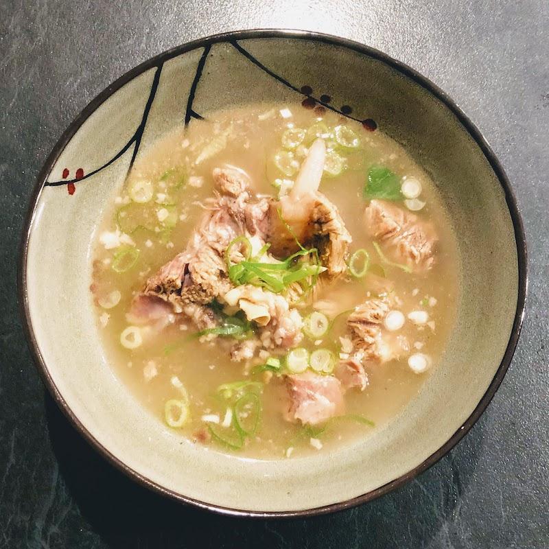 美味しい韓国牛骨スープ「ソルロンタン」