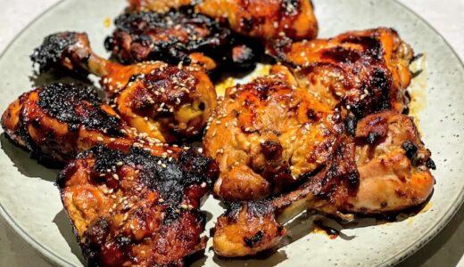 シラチャーソースとマヨネーズで作るピリ辛チキン